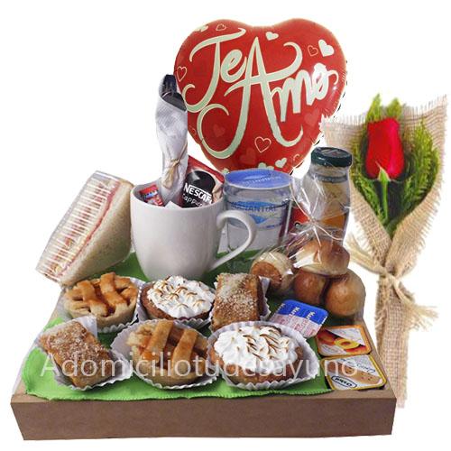 desayuno original de aniversario para ti a domicilio en santiago