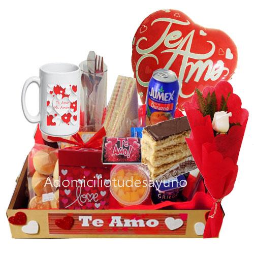 desayunos dia del amor