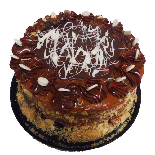 Torta de hoja manjar