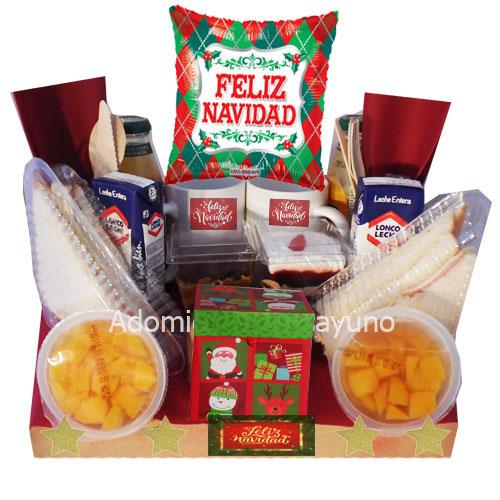 desayuno a domicilio de navidad