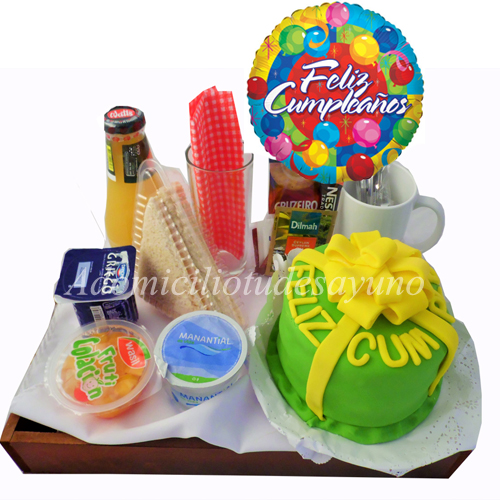 a domicilio tu desayuno cumpleaños