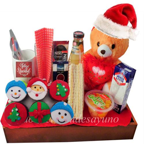 Desayuno de navidad a domicilio