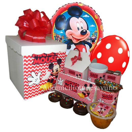 Desayuno Mickey a domicilio