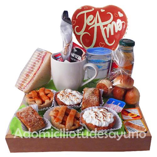 desayuno y onces a domicilio en santiago