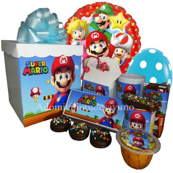 Desayuno Mario Bros